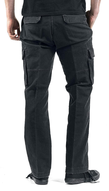 Brandit Heavy Weight Trouser Stoffhose schwarz