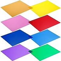 "Neewer - Kit de 8 filtros de Colores para Luces de Estudio (12 x 12 ""/30 x 30 cm). Colores: Rojo, Amarillo, Naranja…"