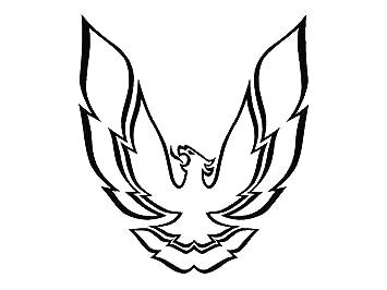 amazon 1998 1999 2000 2001 2002 pontiac firebird trans am hood 67 Firebird Parts 1998 1999 2000 2001 2002 pontiac firebird trans am hood sailbirds only decals kit