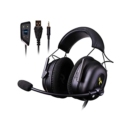 Amazon com: Docooler Gaming Headset 7 1 Virtual Surround