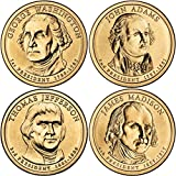2007 P, D Presidential Dollar 8-Coin Set Uncirculated