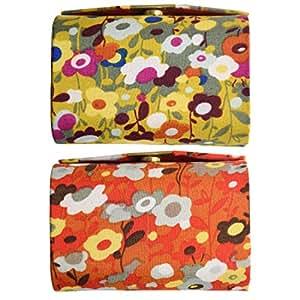 Amazon.com: Multi doble Floral labial para mujeres Carcasa ...