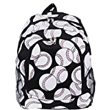 NGIL School Backpack, Baseball Print