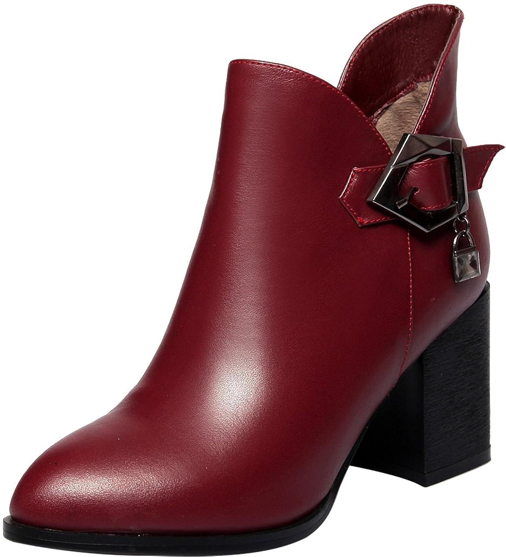 ELEHOT Womens Eleequipt 6CM mid-heel Boots