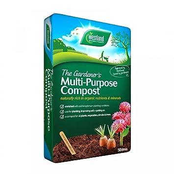 Westland 70 litros de Compost jardín planta suelo.