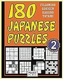 japanese number puzzles - 180 Japanese Puzzles 2: Fillomino - Gokigen - Tatami - Kakuro: Japanese Puzzle Books (Volume 2)