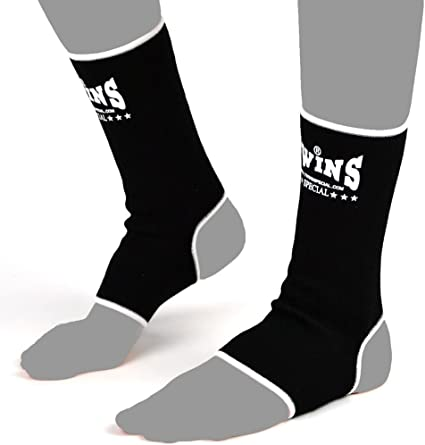 TWINS SPECIAL AG SELECT COLORS ANKLE GUARDS SUPPORT MMA K1 MUAY THAI BOXING