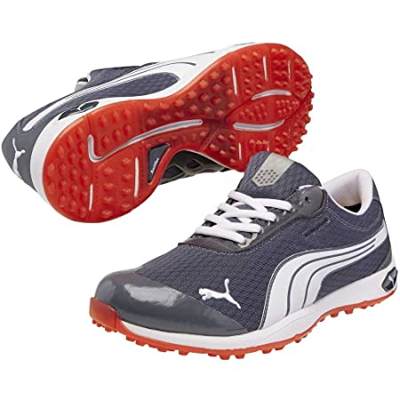 Puma Golf Mens BioFusion Lightweight and Spikeless Mesh Shoes with One Year  Waterproof Warranty edd7191aa