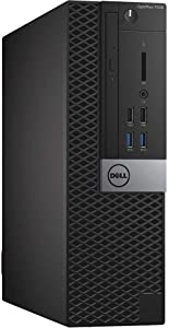 Dell OptiPlex 7040 Small Form Factor PC, Intel Quad Core i7-6700 up to 4.0GHz, 16G DDR4, 512G SSD, Windows 10 Pro 64 Bit-Multi-Language Supports English/Spanish/French(Renewed)