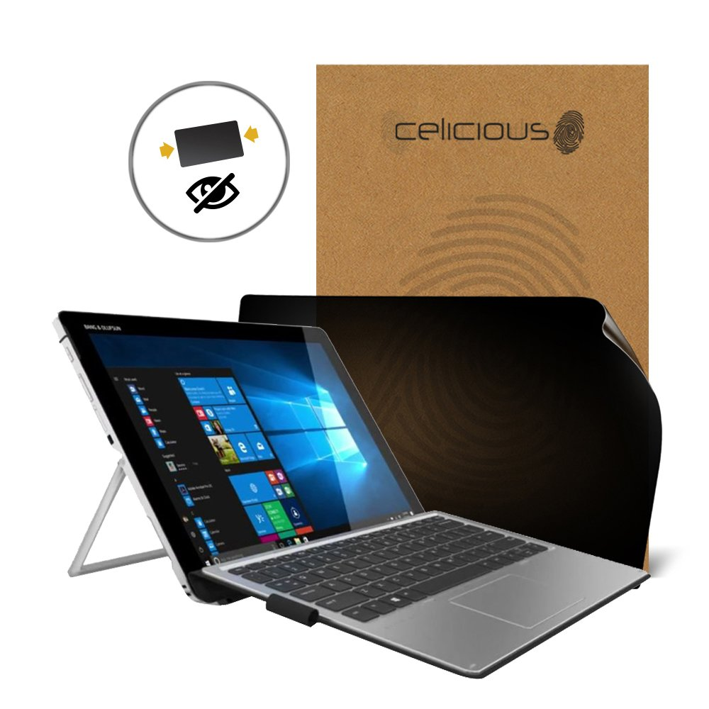 Celicious Privacy 2-Way Anti-Spy Filter Screen Protector Film Compatible with HP Elite x2 1012 G2