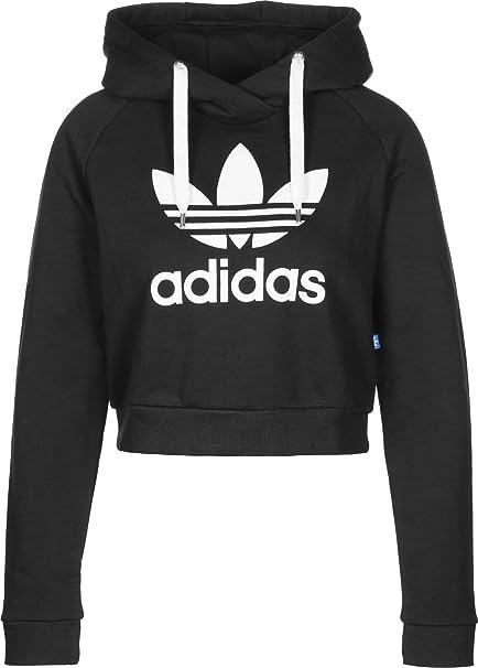 adidas TRF Crop Hoodie, Sweatjacke, Frauen