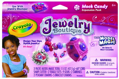 Crayola Model Magic Jewelry Boutique Mock Candy Expansion Pack ()