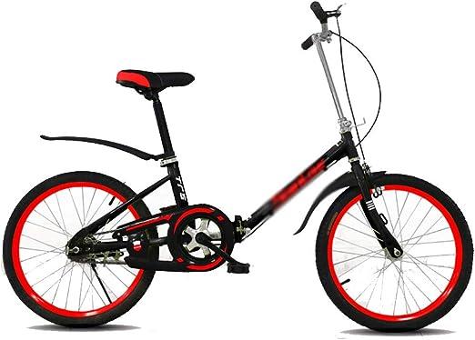 Paseo Bicicleta Bicicleta Plegable portátil Amortiguador de ...