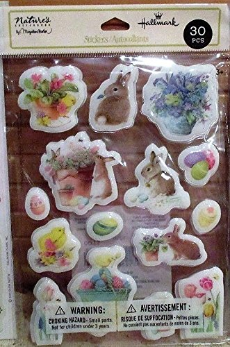 Hallmark ESS1060 - 30 Piece Puffy Easter (Hallmark Stickers)