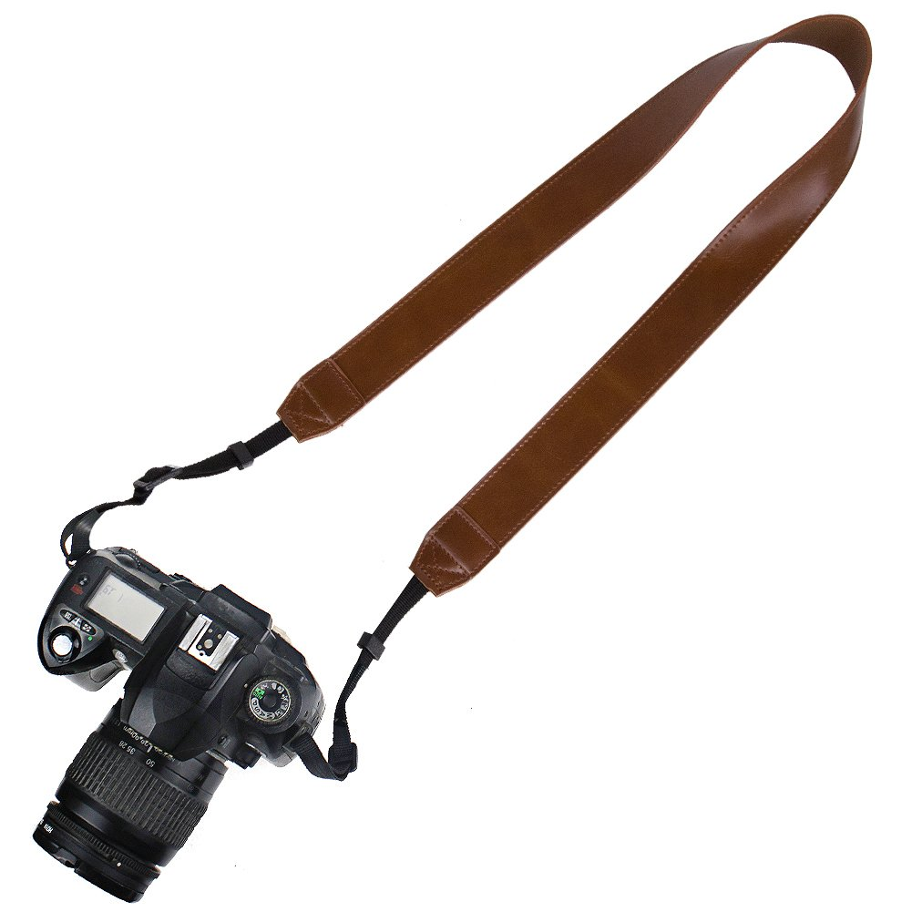 //Instant Camera//Nikon//Canon//Sony//Olympus//Leica//Fujifilm Etc DC Wolven Soft Scarf Camera Neck Shoulder Strap Belt Compatible with All DSLR//SLR//Digital Camera Yellow Map