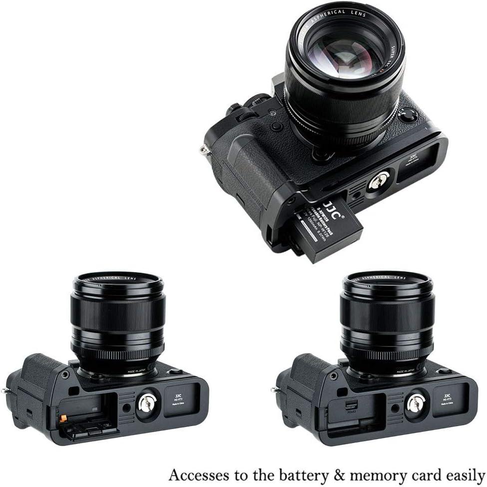 Anti-Slip Hand Grip Bracket for Fuji Fujifilm X-T30 XT30 X-T20 XT20 X-T10 XT10 Replaces Fuji MHG-XT10 Bottom Opening for The Battery Memory Card /& a Speaker Hole