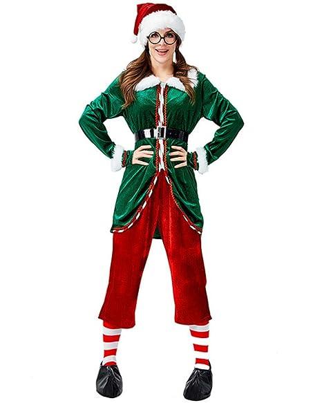 She Charm Traje de Duende de la Navidad de la Mujer, de ...
