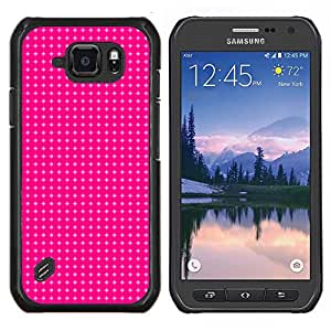 SKCASE Center / Funda Carcasa protectora - Simple patrón de 12 - Samsung Galaxy S6 Active G890A