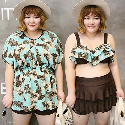 YUPE Hot spring Badeanzug Plus size Swimwear bikini Mode rock Bademoden ferienhäuser strand