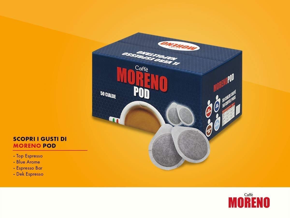 150 Waffles filtrocarta 44mm ese coffee Moreno Intense Espresso Bar Flavor