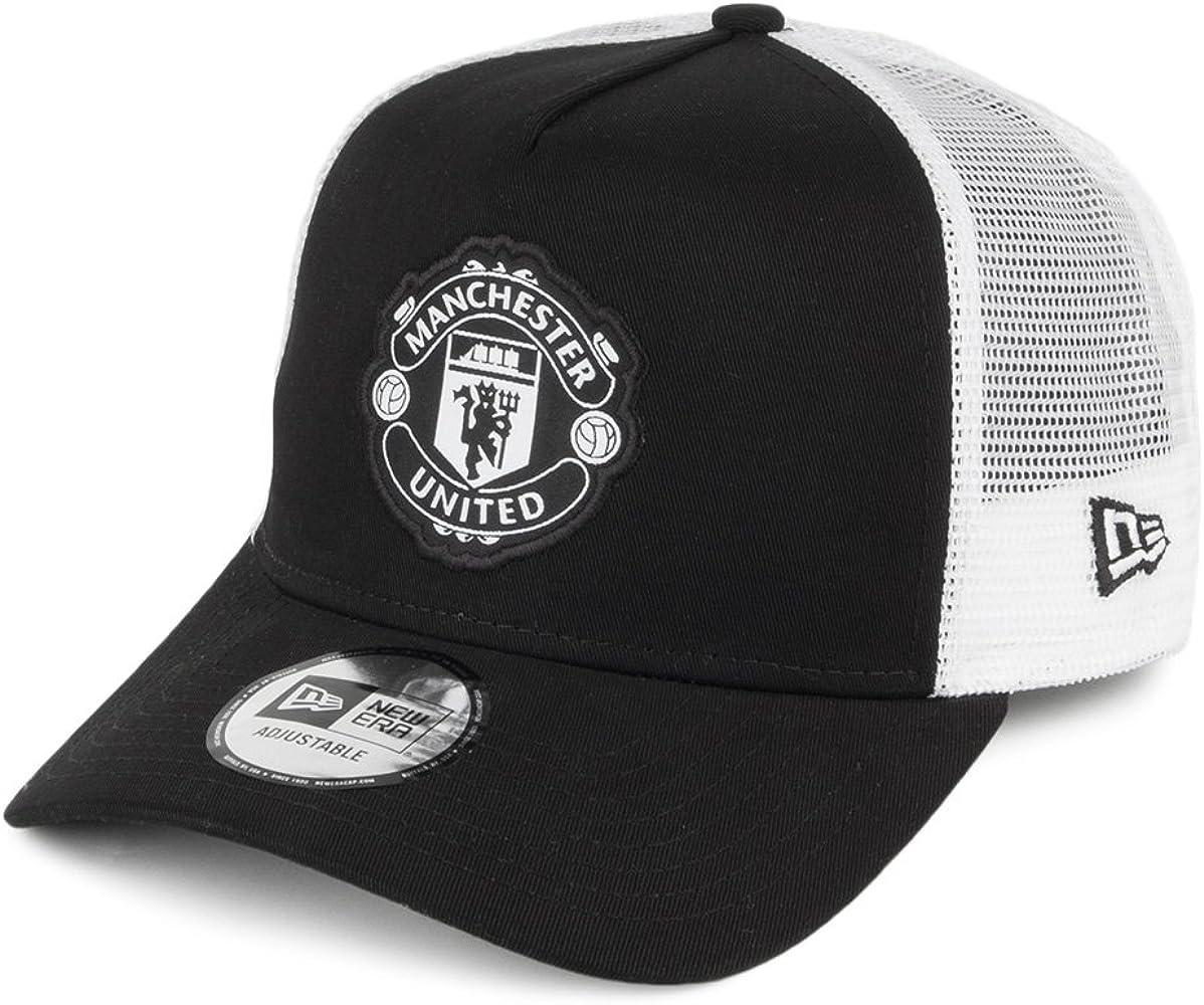A NEW ERA ERA ERA Gorra Trucker Manchester United Negro: Amazon.es ...