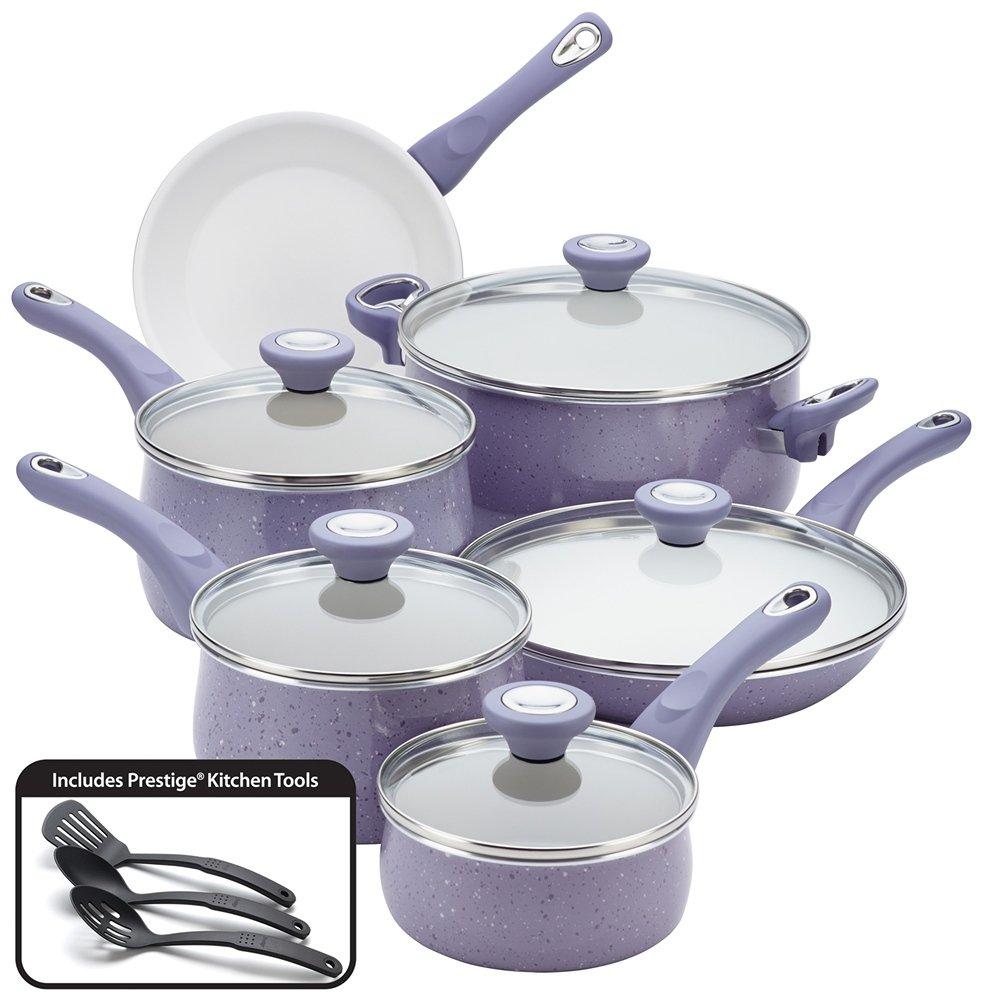Amazon.com: Farberware New Traditions Speckled Aluminum Nonstick ...