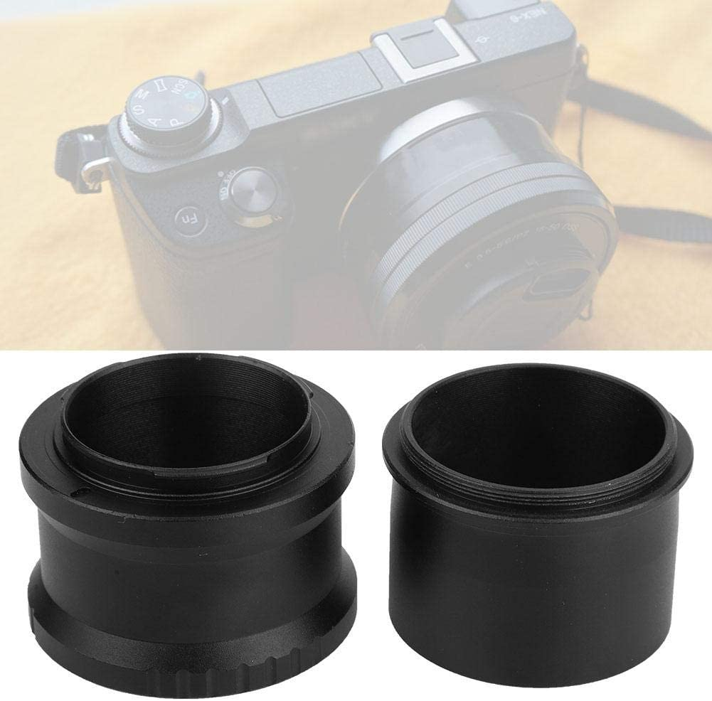 Wandisy 48mm Aluminium Alloy Adapter Ring for NEX Mount Mirrorless Camera Telescope