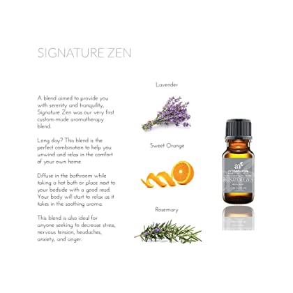 ArtNaturals Signature Blend Essential Oils Set - (8 x 10ml) - 100 Percent Pure of The Highest Quality - Therapeutic Grade - Aromatherapy Collection