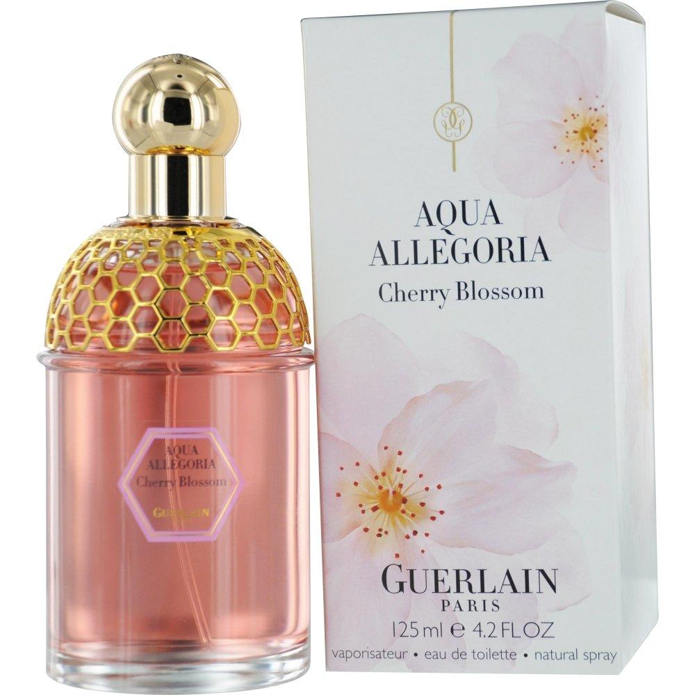 Aqua Allegoria Cherry Blossom For Women by Guerlain Eau De Toilette Spray, 4.2 Ounce
