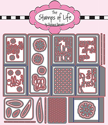 The Stamps of Life Box Card Die Set