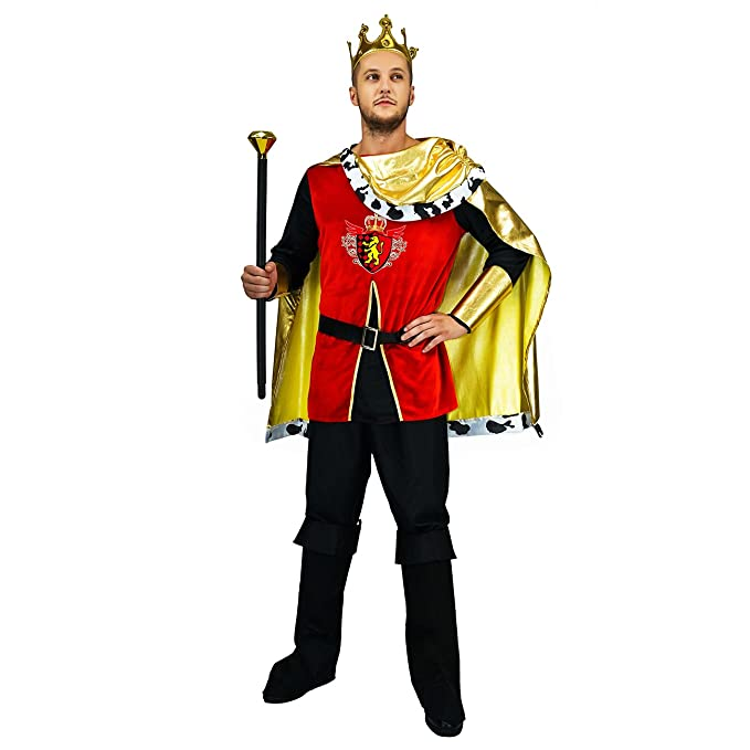 Amazon.com: Disfraz de hombre de lujo King: Clothing