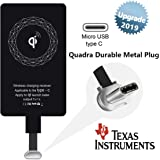 Wireless Charger Receiver Qi Charging Adapter...