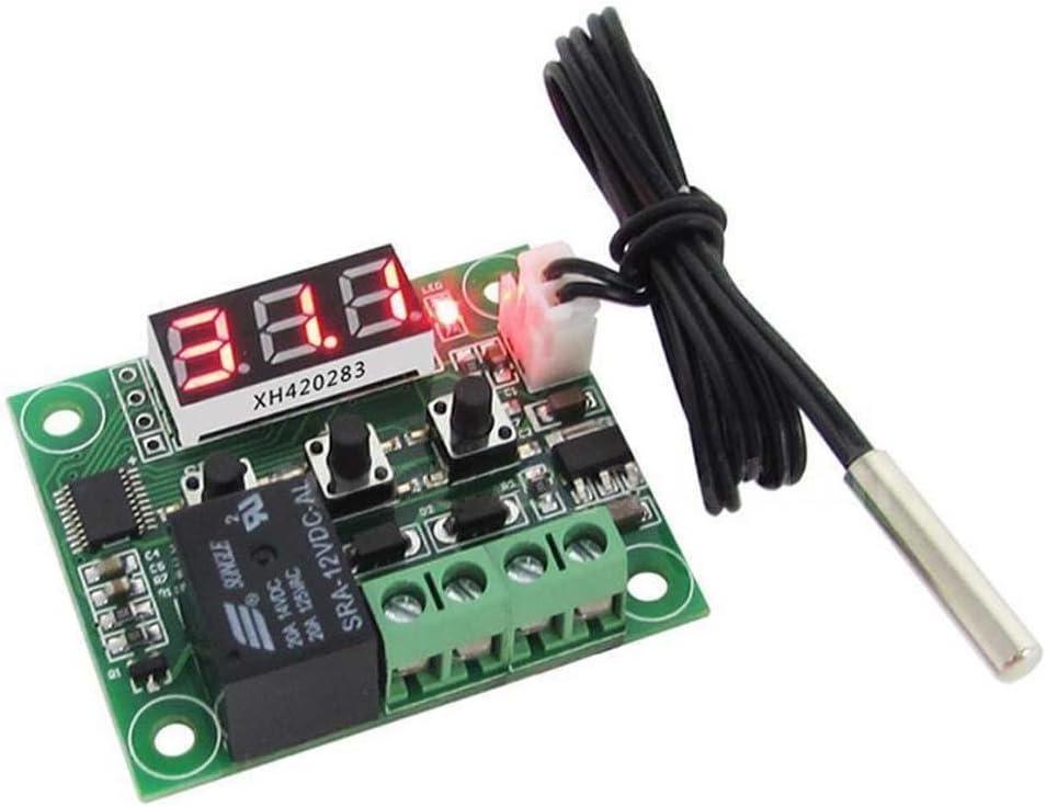 Cable 50-110°C W1209 Digital Thermostat Temperature Control Switch 12V Sensor
