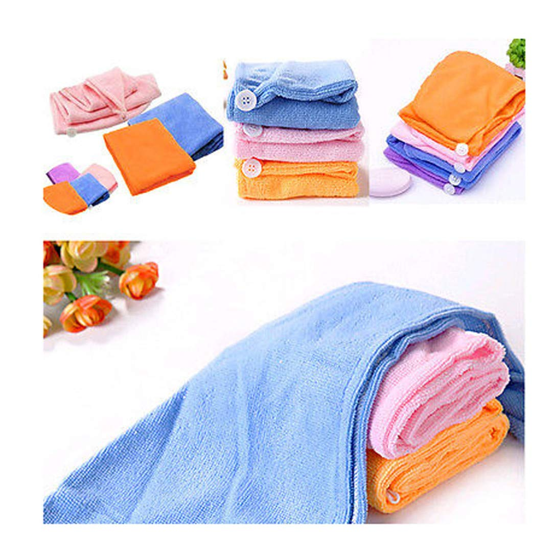 Amazon.com : 1Pcs Hair Quick Drying Bath Towel Sauna Spa Tub Cap Head Wrap Shower Bath Caps Toalha Toallas Bath Towels For Adults Hand Towels Purple : ...