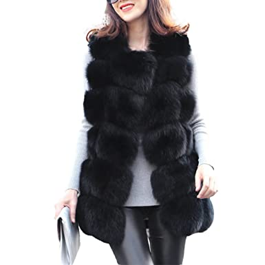 89c136e33bb8 Women s Faux Fur Gilet Vest