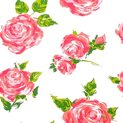 Amazon 10 Large Sheets 20 X 30 Each Tissue Paper Rose Floral