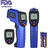 Albott Non-contact Digital Laser IR Infrared Thermometer Temperature Gun -58~788℉(-50 ~ 420℃),Battery Included