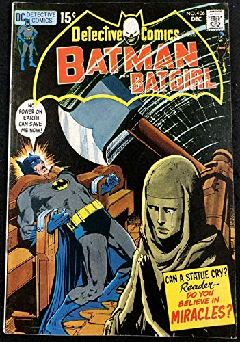Detective Comics (1937) #406 FN+ (6.5) Batman