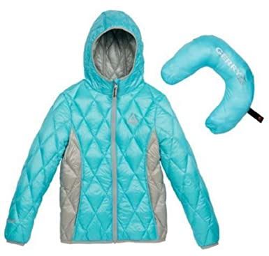 866032bd2 Amazon.com  Gerry Girls Packable Down Jacket Mist XS 6  Clothing