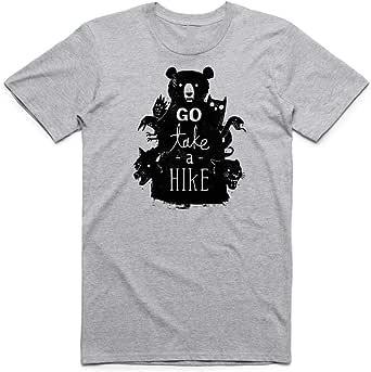 تي شيرت رمادي Go Take A Hike للرجال
