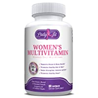 Lady Fit - Women's Daily Multivitamin Supplement. Vitamins and Minerals. Chromium...