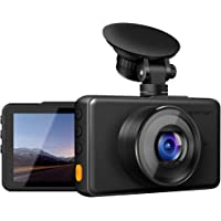 "APEMAN Dash Cam 1080P FHD DVR Car Driving Recorder 3"" LCD Screen 170°Wide Angle, G-Sensor, WDR, Parking Monitor, Loop Recording, Motion Detection"
