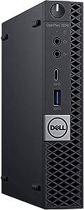 DellOptiPlex 7070 Micro Form Factor Business Computer | Intel Core i7-9700 | 8GB DDR4 | 128GB PCIe M.2 NVMe SSD | Windows 10 Pro