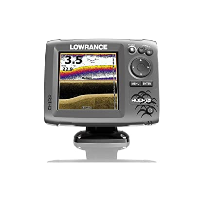 Lowrance Hook-5X Sonar Mid High Downscan Fishfinder
