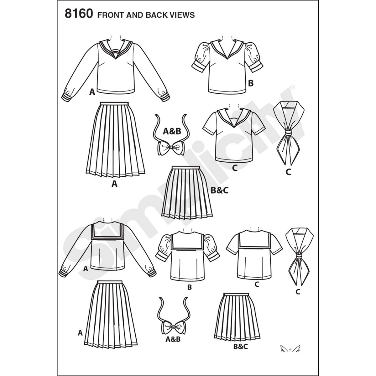 White Paper Simplicity Pattern 8160 Effy Sews Cosplay Misses Costume CARPET Uni Red; Size: 60x110cm
