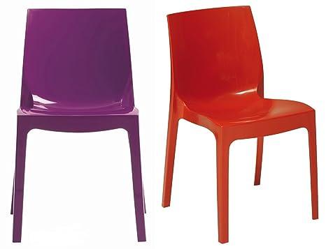 Sedie Da Giardino In Plastica Grand Soleil : Arredamento casa arredamento e bricolage sedia antracite in