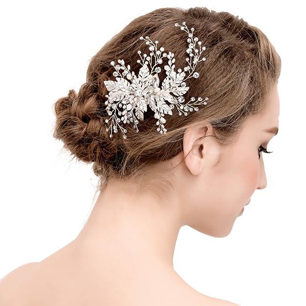 Broches de la aleación de diamantes -Broche o accesorios de pelo.