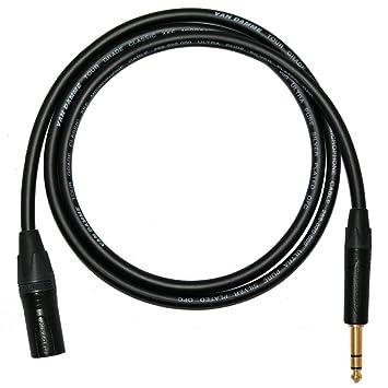 Designacable NC3MXX-B-VDMIBK0200-NP3X-B - Cable XLR a jack (