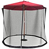 Umbrella Screen Cover Mosquito Bug Insect Net Patio Table Netting 9/10FT