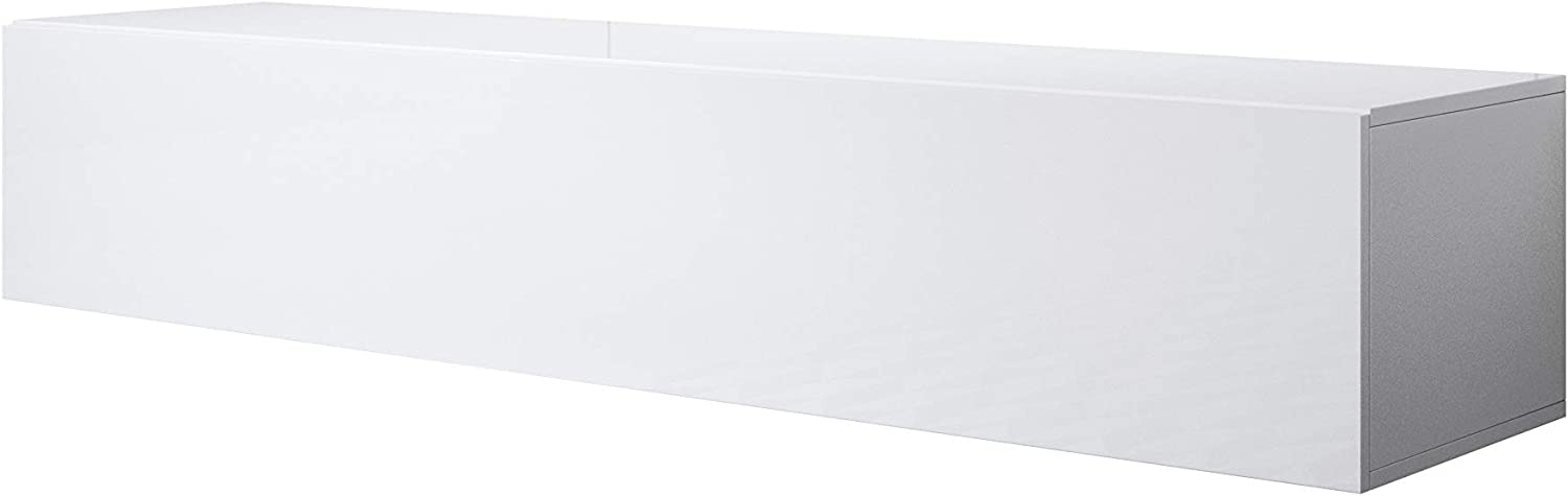 Mueble TV Modelo Luke H2 (160x30cm) Color Blanco: Amazon.es: Hogar